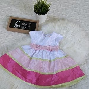 Gymboree dress with pink bow